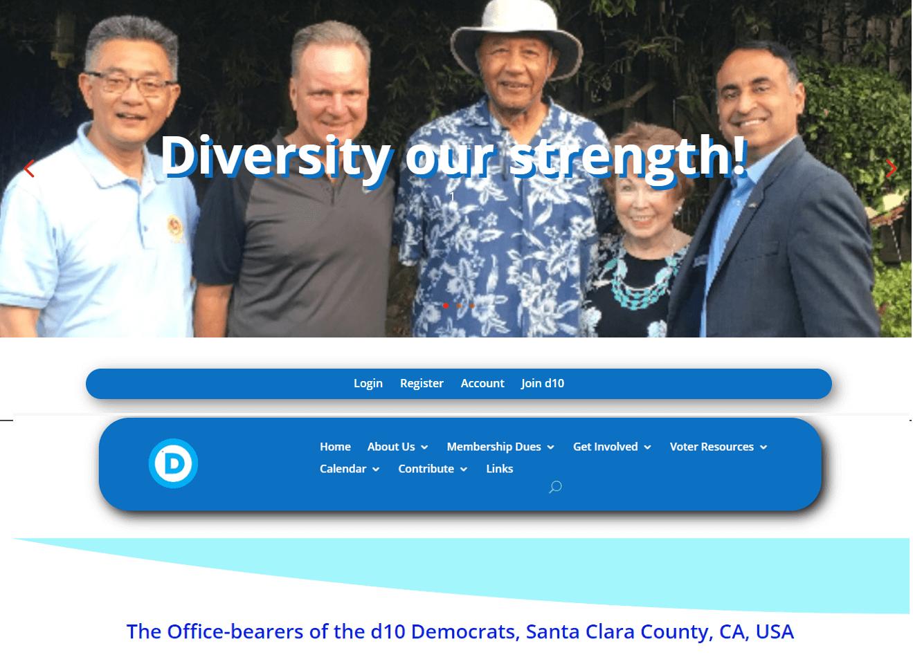 Democrats site
