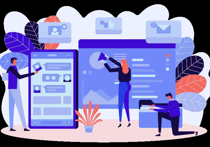 Web design service three